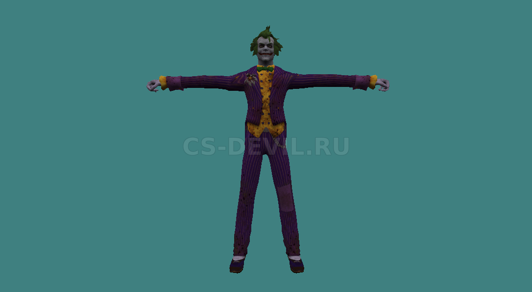 Модель игрока [Joker] для CS 1.6